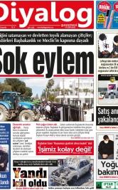 Diyalog Gazetesi - Kıbrıs'ta Haberin Merkezi - 14.04.2021 Manşeti