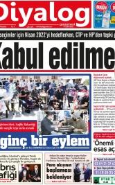 Diyalog Gazetesi - Kıbrıs'ta Haberin Merkezi - 15.04.2021 Manşeti