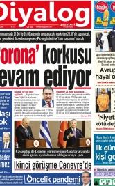 Diyalog Gazetesi - Kıbrıs'ta Haberin Merkezi - 16.04.2021 Manşeti
