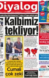 Diyalog Gazetesi - Kıbrıs'ta Haberin Merkezi - 22.06.2018 Manşeti