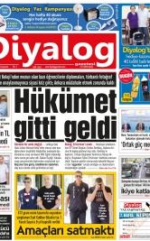 Diyalog Gazetesi - Kıbrıs'ta Haberin Merkezi - 23.06.2018 Manşeti