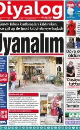 Diyalog Gazetesi - Kıbrıs'ta Haberin Merkezi - 11.05.2021 Manşeti