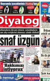Diyalog Gazetesi - Kıbrıs'ta Haberin Merkezi - 12.05.2021 Manşeti