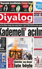 Diyalog Gazetesi - Kıbrıs'ta Haberin Merkezi - 13.05.2021 Manşeti