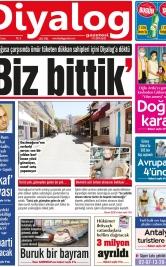 Diyalog Gazetesi - Kıbrıs'ta Haberin Merkezi - 14.05.2021 Manşeti