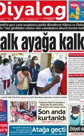 Diyalog Gazetesi - Kıbrıs'ta Haberin Merkezi - 15.05.2021 Manşeti