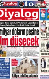 Diyalog Gazetesi - Kıbrıs'ta Haberin Merkezi - 18.06.2021 Manşeti