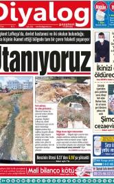 Diyalog Gazetesi - Kıbrıs'ta Haberin Merkezi - 22.06.2021 Manşeti