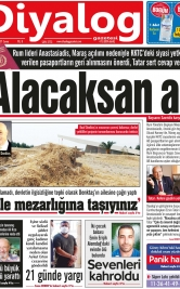 Diyalog Gazetesi - Kıbrıs'ta Haberin Merkezi - 23.07.2021 Manşeti