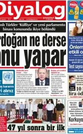 Diyalog Gazetesi - Kıbrıs'ta Haberin Merkezi - 24.07.2021 Manşeti