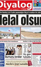 Diyalog Gazetesi - Kıbrıs'ta Haberin Merkezi - 25.07.2021 Manşeti