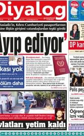 Diyalog Gazetesi - Kıbrıs'ta Haberin Merkezi - 27.07.2021 Manşeti