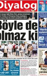 Diyalog Gazetesi - Kıbrıs'ta Haberin Merkezi - 28.07.2021 Manşeti