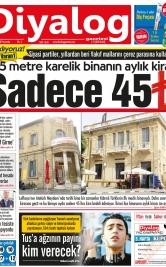 Diyalog Gazetesi - Kıbrıs'ta Haberin Merkezi - 24.05.2018 Manşeti