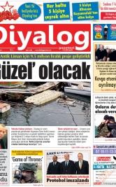 Diyalog Gazetesi - Kıbrıs'ta Haberin Merkezi - 08.12.2019 Manşeti