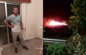 'Yangın çıkınca köyü uyandırdım'