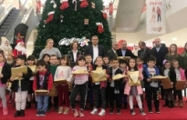 Ülke genelindeki ilkokul öğlencilerinin yaptığı resimlerden oluşan sergi açıldı