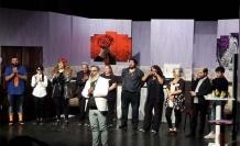 "Çatalköy'de, ""Gül Pansiyon"" oyunu sahnelendi"