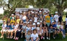 Cumhurbaşkanı akıncı'da düzenlenen art terapi sergisi ve kermesine katıldı