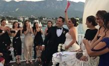Damla ile Ertuğrul'un muhteşem düğün töreni Merit Park'ta gerçekleşti