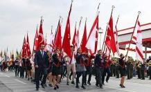 Cumhuriyetimizin 35. yıldönümünü gururla kutluyoruz