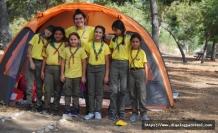 Doğa İzcilik Derneği üyeleri Bedis Piknik Alanı'nda 2 gece 3 gün geçirdi