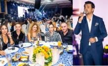 Gökhan Tepe, Merit Crystal Cove Hotel'in misafirlerine muhteşem bir konser verdi