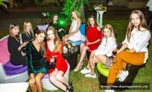 'Top Model of North Cyprus' yarışmasına katılan güzeller, Habanos Club'ta düzenlenen partiye katıldı