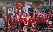 Lefkoşa Vakıf Anaokulu'nda Atatürk, ölümünün 81'inci yılında düzenlenen törenle anıldı