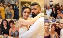 Emine ile Sultan'a mükemmel bir düğün töreni