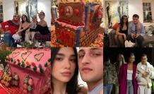 Dua Lipa, Gigi ve Bella Hadid, Noel'i evlerinde kutladı