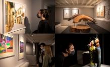 'Random ARUCAD' sergisi ziyarete açıldı