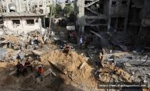 Gazze'de geriye harabe kaldı