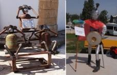 Atık Malzemelerden Heykel Yapma yarışması düzenlendi