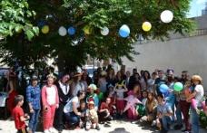 """Arabahmet bölgesinde, """"Hayat Çocuklar ile Renkli"""" Sosyal Sorumluluk Projesi'nin dördüncüsü yapıldı"""