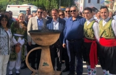 Büyükkonuk köy meydanında gerçekleşen Eko-Gün etkinliği siyasetin gölgesinde gerçekleşti