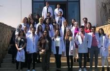 LAÜ öğrencilerinden Merit Crystal'e ziyaret