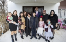 Türkeş'in doğduğu evi ziyaret etti
