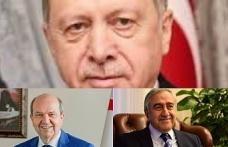 Erdoğan ile bayramlaşma teatisi