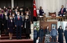 """Ev İçi Şiddet Yasa Taslağı"""" Meclis Başkanı Uluçay'a sunuldu"""
