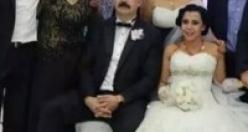 Hüsniye ile Ümit evlendi