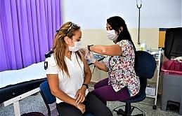 DAÜ'deki tüm personele Johnson&Johnson aşıları tek doz olarak randevu usulü yapılıyor