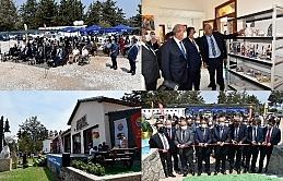 Karaağaç'ta kayıp milletvekili Cengiz Ratip'in büstü ile Çini Seramik Atölyesi'nin açılışı yapıldı