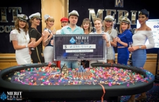 Merit Poker turnuva şampiyonu Belaruslu Ihar Soika...