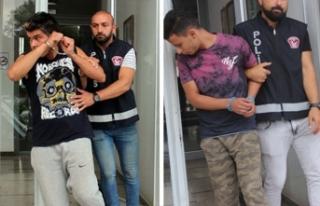Apartmanda tutuklama
