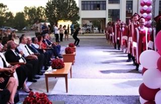 Atatürk Öğretmen Akademisi'nde düzenlenen törende...