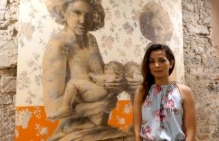 İranlı ve Türk sanatçıların eserlerinin yer...