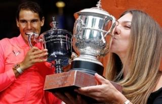 Teniste isimler değişmedi