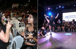 Dikmen'de 11 Meşale Festivali renkli yarışmalar,...