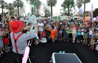 Güzelyurt Portakal Festivali kapsamında Çocuk Şenliği...